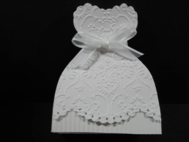 10 Bridal Gown Bride Dress Wedding Favor Boxes Bridal Shower Etsy