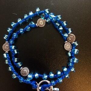 Crochet Choker or Wrap Bracelet.