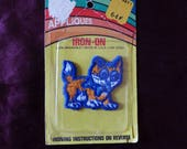 Vintage Kitten Cat Applique Patch