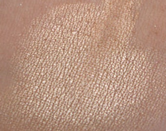 CARAMEL INSTINCT - Caramel Brown Mineral Eyeshadow Satin Finish Vegan
