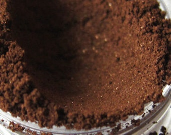 CHOCOLATE CAKE Dark Brown Chocolate Mineral Eyeshadow Vegan