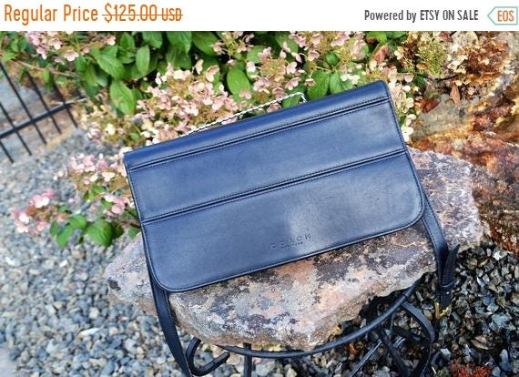 Fall Sale COACH Bag~Black ,Leather Bag~ Coach Bag… - image 1