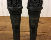 Monoprice Dynamic Vocal Microphone - 2 Microphones - New Old Stock