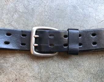 AELIUS Studded leather belt for Men