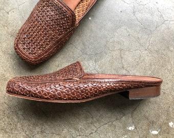 80er slipper flats | Etsy