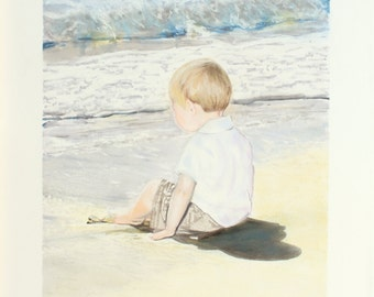 Drawing Custom Portrait - From Photo - Pastel, Color Pencil, Inks, Watercolor Drawing Child, Adult, Family, Baby - Gift Hand Drawn