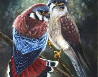 Painting Custom Wildlife Portrait - From Photo - Oil Painting - Wildlife