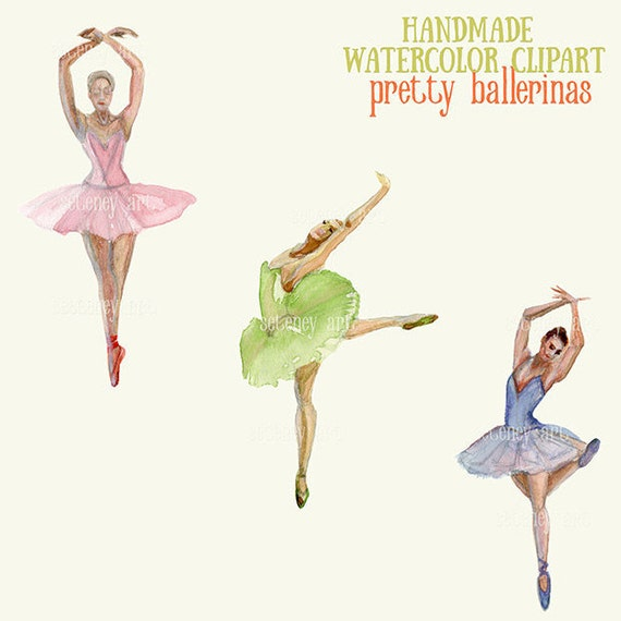 Ballet Clipart,Ballerina Watercolor Clipart,ballerina,PNG file,dancer,Ballerina Clipart, Dance Clipart, ,Hand painted clipart,invitations