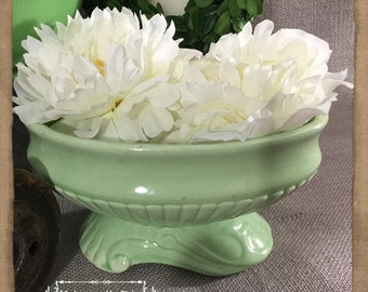 Vintage 40s Green, Console Bowl