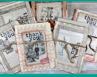 Ephemera Paper Packs for Collage, Mixed Media, Art Journaling and More