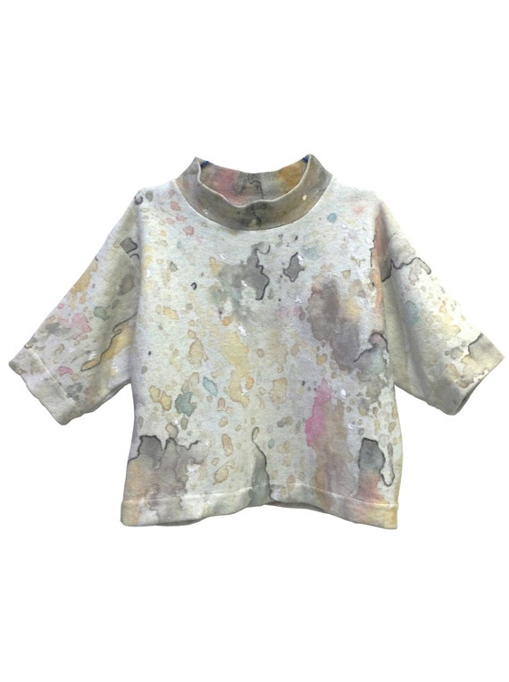 LOLA DARLING Painting Sweatshirt ARTWORK by A. Lugli (buy a painting and wear it)