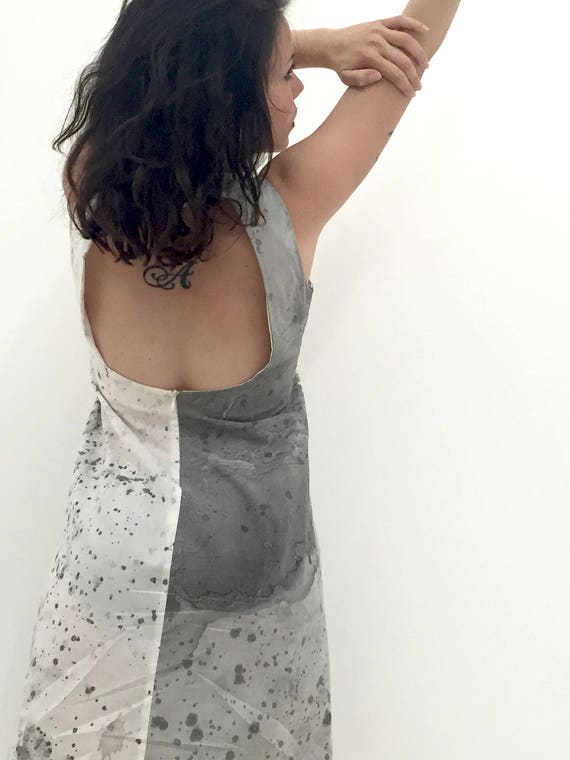 Hand Work Signed with Art Artirst Dress in LOLA Italy DARLING Wearable Naked Exclusive Luxury back Painted by Swarovski Certified Handmade wq7IBSOx