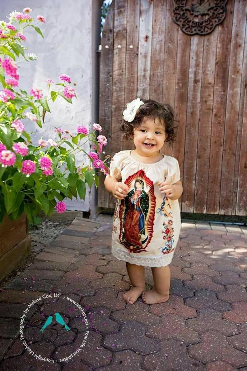 a7feb1b18 México nuestra Señora de la bebé Guadalupe vestido en negro o