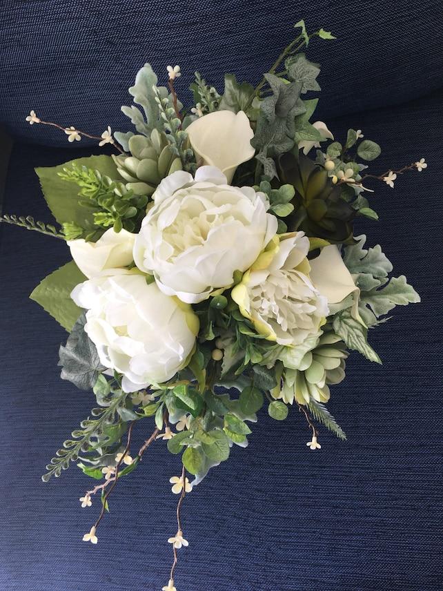 Wedding Bouquetgreenery Bouquetboho Bridal Bouquetgarden Bouquet