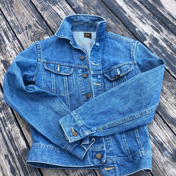 Vintage Lee Rider 101J Denim Jacket Two Pocket Mad