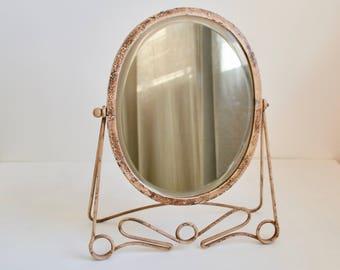 Vintage Anthropologie table mirror