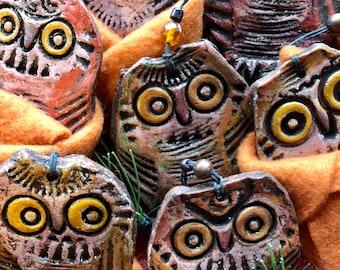 Rockefeller the happy little owl