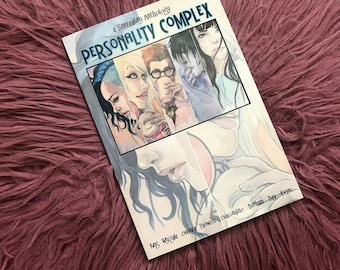 Surreality Personality Complex Anthology Graphic Novel Watercolor Comic Book Carla Wyzgala Carlations