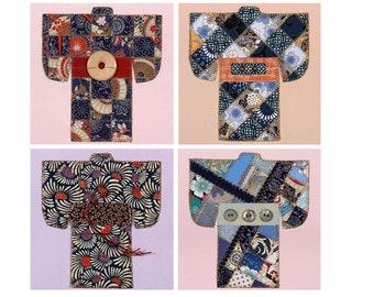 Kimono Sampler Set Paper Quilt Card Pattern GC110