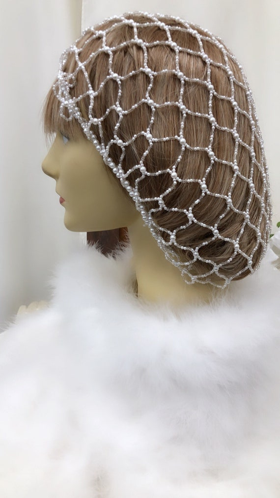Snood Hair Net, Bridal Snood, Renaissance Hair Sno