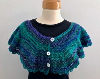 Femininity Shawlette, shawl, scarf