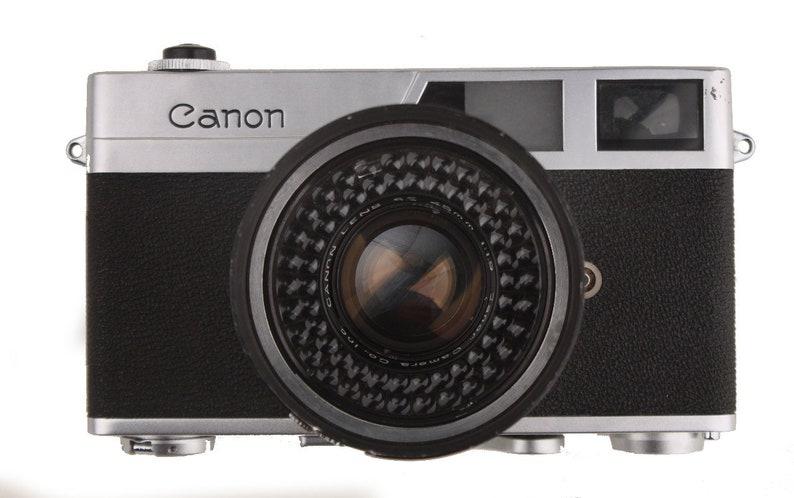 Vintage original 1961 canon canonet entfernungsmesser se 45mm etsy