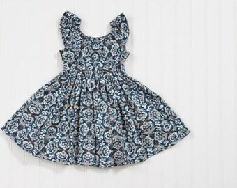 SALE 12-24m Heart de Flur Peasant Dress - Ready to Ship