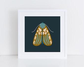 Moth Two Illustration, Print