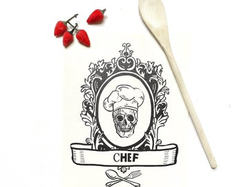 "illustration print ""Until the bone""- gift for chef- digital art print- home decoration print-"