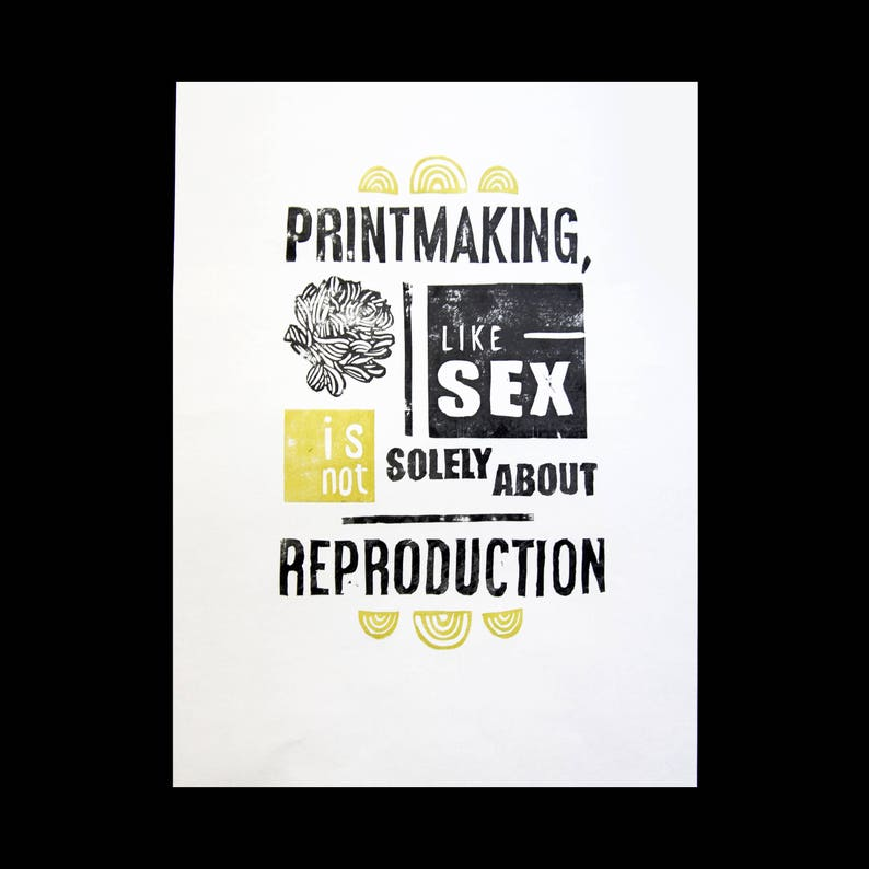LINOCUT PRINT printmaker image 0