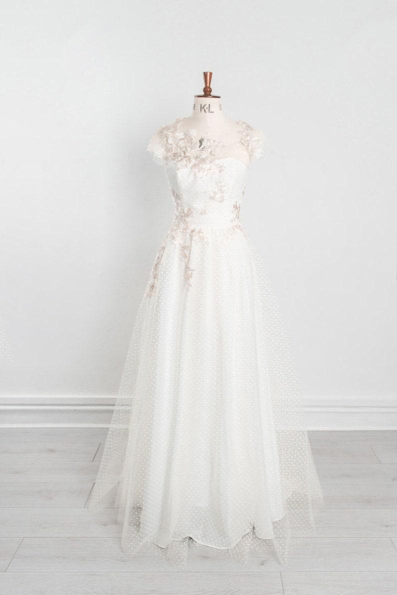 Ethereal Wedding Dress.Blossom Ethereal Wedding Dress