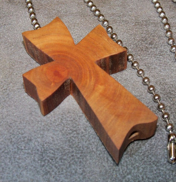 Celtic Cross Ceiling Fan Pull Lamp Pull Chain Wood Cross