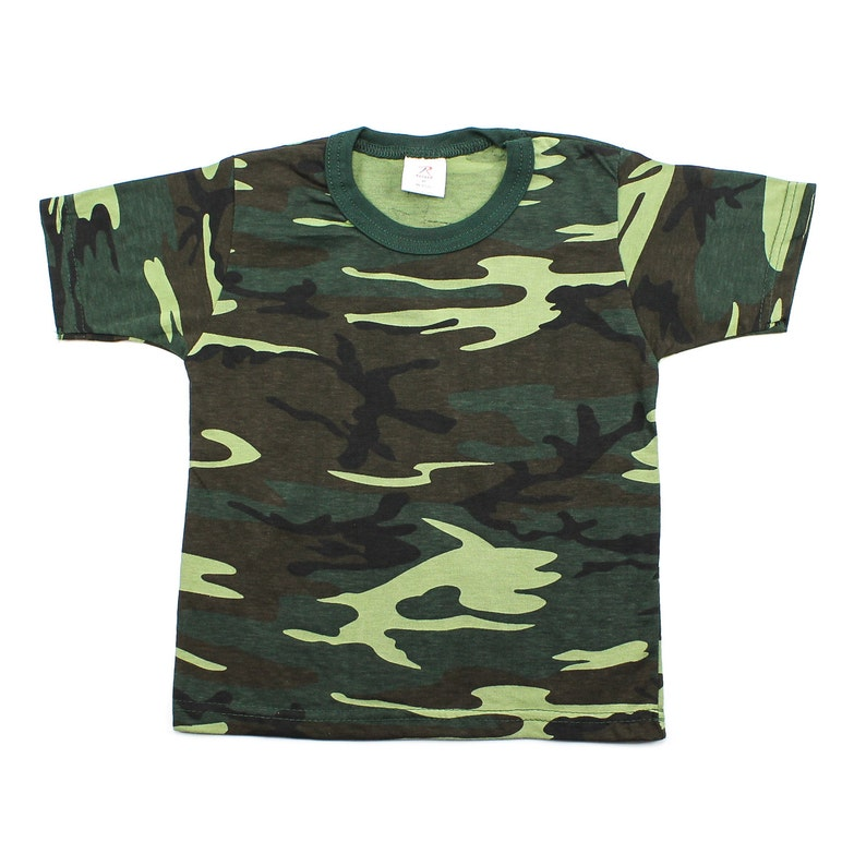 e57971e33fccf Camo Toddler T Shirt Personalized Kids Clothes Woodland Baby   Etsy