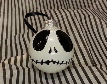 Small Jack Skellington Ornament