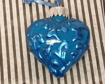Flourish Heart Ornament