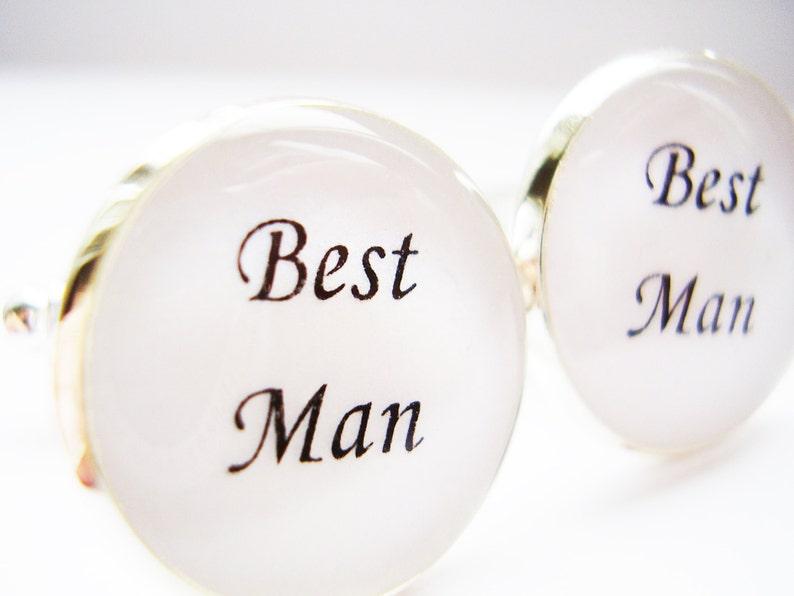 Formal Wedding Wear Best Man Cufflinks Cufflink Workshop Silver Wedding Cufflinks UK Groomsmen Cufflinks Father of the Bride Cufflinks