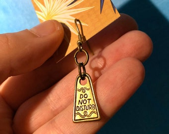Do Not Disturb ~ Tiny Single Earring