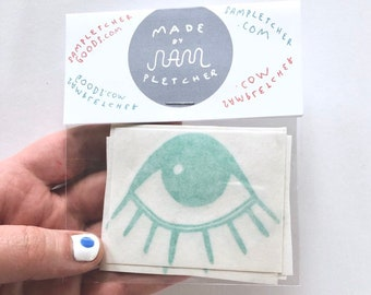 Eye Vinyl Sticker Pack