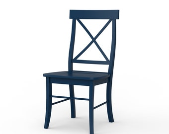 Ava Painted Dining Chair - Custom Colors Available