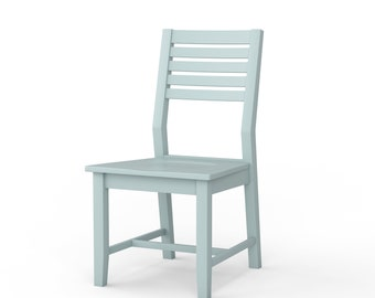 Portland Painted Dining Chair - Custom Colors Available