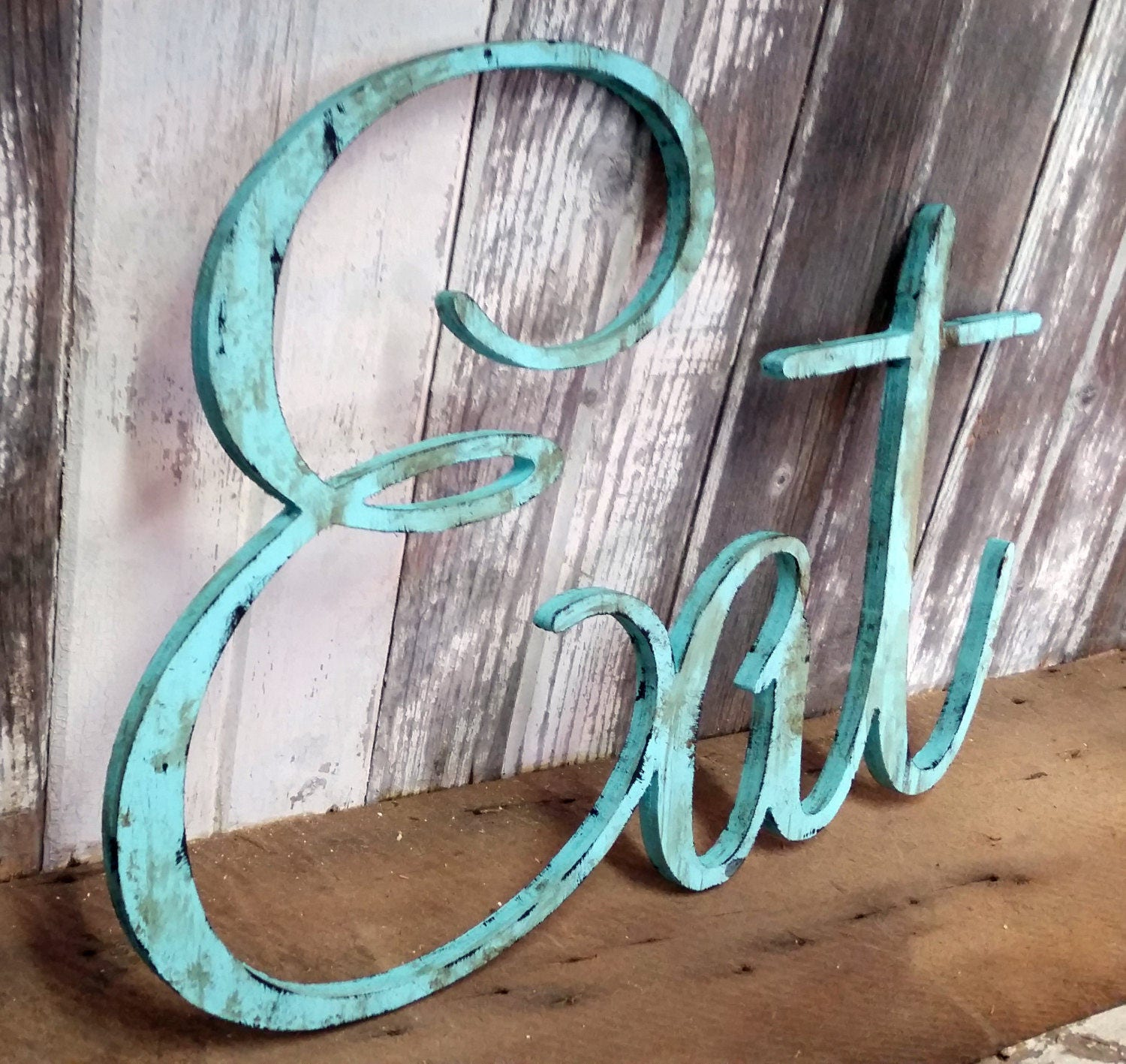 EAT Sign for Kitchen Sign Rustic Eat Sign Home Decor Wall