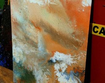 Jupiter Rising on  canvas 28×22