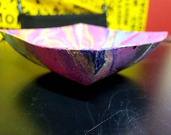 Crystal Tray with Chakra Inspired art