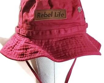 Rebel life bucket hat