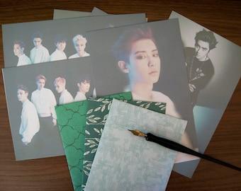 EXO Overdose stationery set