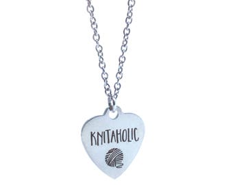 Knitaholic Stainless Steel Necklace