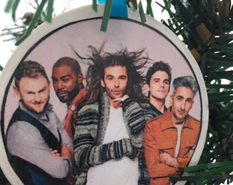 Queer Eye Fab Five Ornament