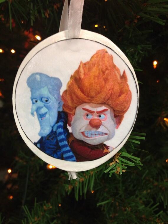 Mr. Heat Miser & Mr. Snow Miser Christmas Ornament   Etsy