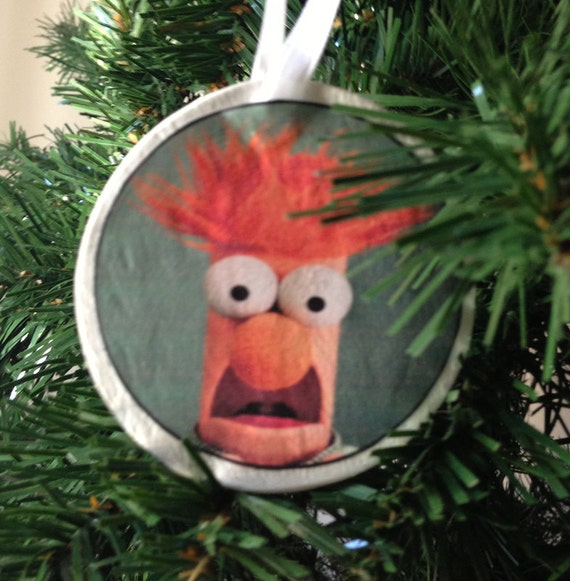 image 0 - The Muppets Beaker Christmas Ornament Etsy