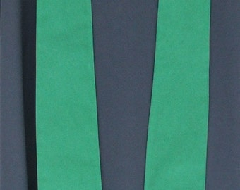 clergy stole, Priest stole, Pastor stole, vestment, MCC logo, green, MADE to ORDER